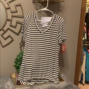 The Hanger Black and White Striped Shirt